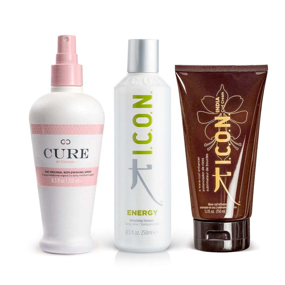 pack energy cure curl cream icon products