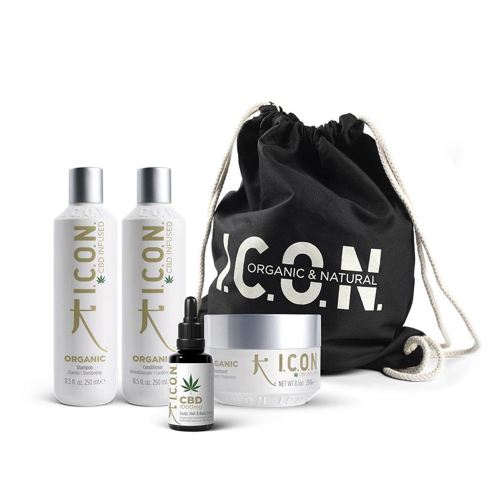 pack productos de icon organic cbd